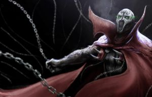 Another Sketch: Spawn by DottorFile