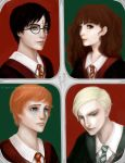 Harry Potter - Red vs. Green by antilogia