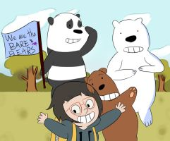 We are the Bare Bears by wroof