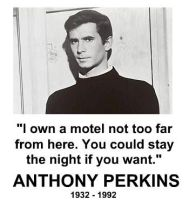 Anthony Perkins by RandomCheese