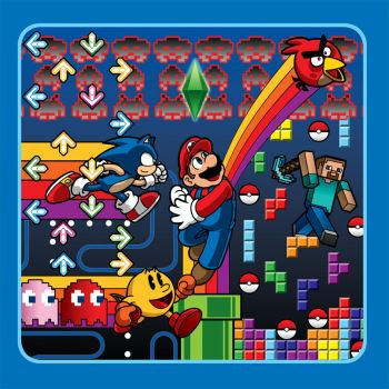 Vintage Video Games Volume 2 book cover by Thormeister