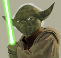 Yoda by Hawkmccloud