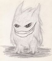 Gengar - Devil Grin by The-BenT-One