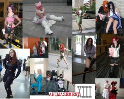 Animazement Cosplayers 2 by TheIronClown