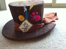 Tim Burton's Mad Hatter Hat by PandoraLuv