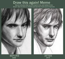 Draw Mr Darcy Again! by devsash