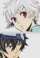 Gareki and Nai | Responsable for each other by Hanacch