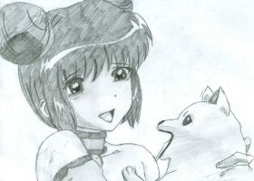 Mew Minto and Miki by FreeAllAngels