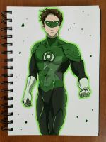 Day 88: Green Lantern by SuperG0blin