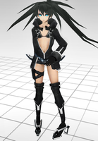 .::PsP Black Rock Shooter::. by KamyXx