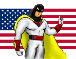 Space Ghost by Hand-Banana