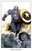 CAPTAIN AMERICA WW2 by DaneRot