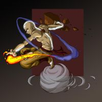 Avatar Aang by friedChicken365