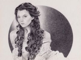 Natalie Dormer as Anne Boleyn by Cavetroll1