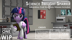 [DL] Scientific Twilight Sparkle - V1 - Hydrogen by DazzioN