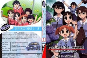Azumanga Daioh dvd cover by mpw3d