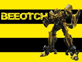 Bumblebee Wallpaper by lint