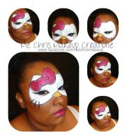 Hello Kitty Mask by MzChrisCreatez