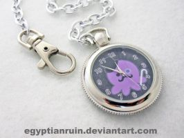 Gentleman Octopus Pocket Watch by egyptianruin