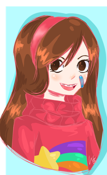 Mabel Pines by Rainbow-Hearts567