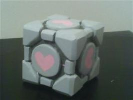 Weighted Companion Cube by lilwassu