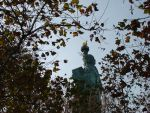 The Statue of Liberty, as seen by a shrubbery by ApocalypsePonii