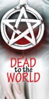 Dead to the World Bookmark by SniffNSketch