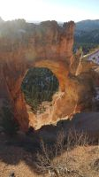 Natural Arch, Bryce Canyon N.P., Utah by PamplemousseCeil