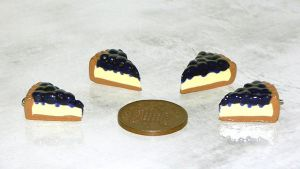 Blueberry Cheesecake Charms by jen-kollic
