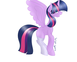 Twilight Sparkle by SisterOfBlood