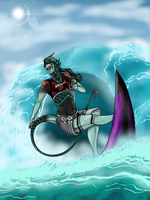 .:Surf's Up:. January Ambulance Prompt by Wolfchick36