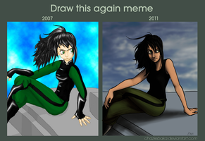 Draw this again meme - Dura by ChazieBaka