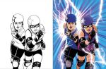 Croydon Roller Derby Poster by YelZamor