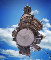 amsterdam dam square panosphere by waynew0l