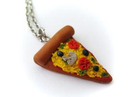 Pizza Charm by PumpkinDream