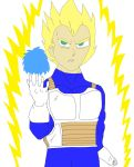 Super saiyan Vegeta by NightmareOnElmStFan