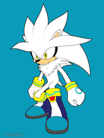 Silver the Hedgehog by Soniclifetime
