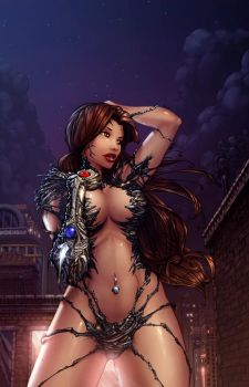 Witchblade color by cehnot