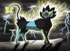 Jerome the luxray by Fenris88