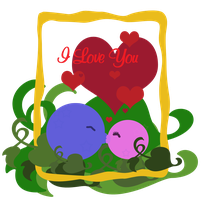 I LOVE YOU Card by Egil21