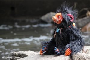 Anna the Hognose Imp doll by missmonster