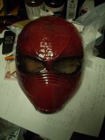 Red Hood mask WIP 2 by AnielaAbair
