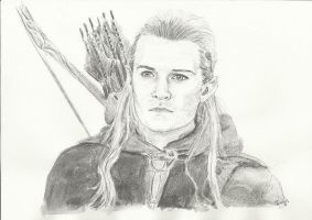 Legolas for K by Powerfulwoodelf