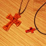 Day 72: Amber Cross Necklaces by poserfan-pholio