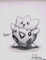 Togepi by johnrenelle