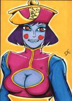 Hsien-Ko Lei Lei sketch card by The-Standard