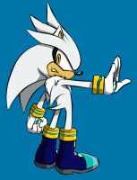 Silver (Sonic Channel) 2012 in PhotoShop by Nabuco88