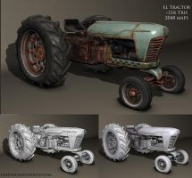 old Tractor by JerkDrive
