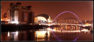 Newcastle Panorama by ag177