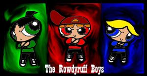 The Rowdyruff Boys by HirokoTheHedgehog